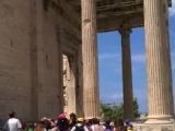 Περπατώντας στην Ακρόπολη των Αθηνών
